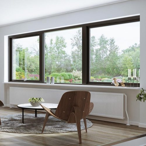 Black Composite Window