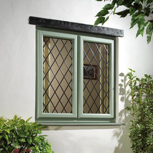 Chartwell Green Casement Window