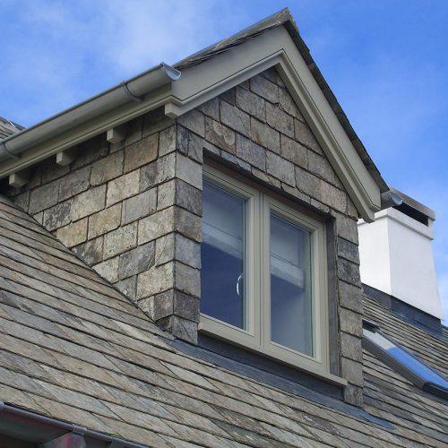 Coloured Casement Window