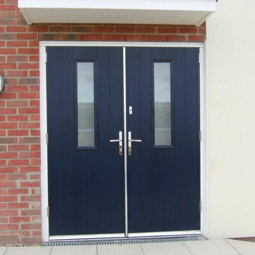 Dark Blue Solidor Composite Door