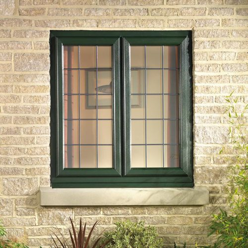 Green Casement WIndows