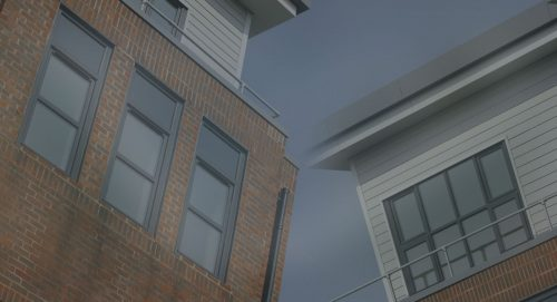 Grey Tilt and Turn Windows