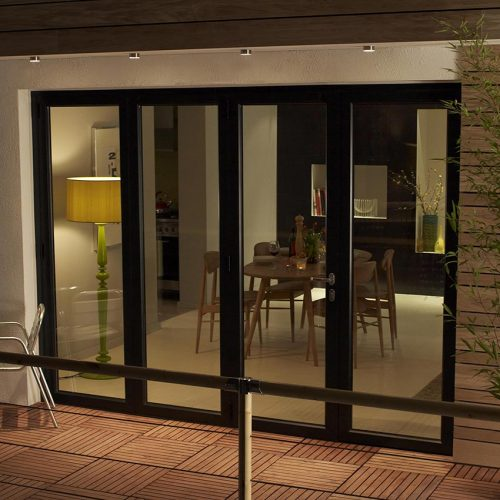 Origin Aluminium Black Bifold Door