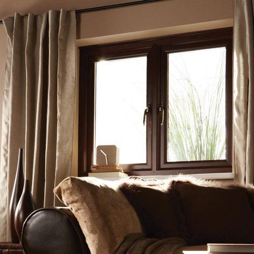 Profile  Rosewood Casement Window