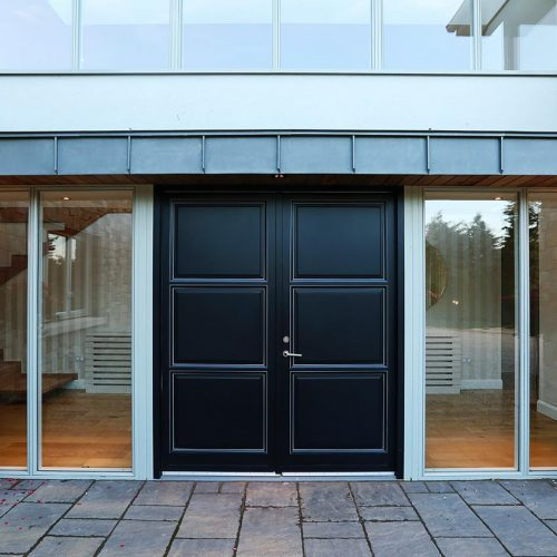 Rationel Black Dual Composite Doors