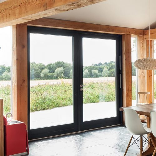 Rationel Black French Door