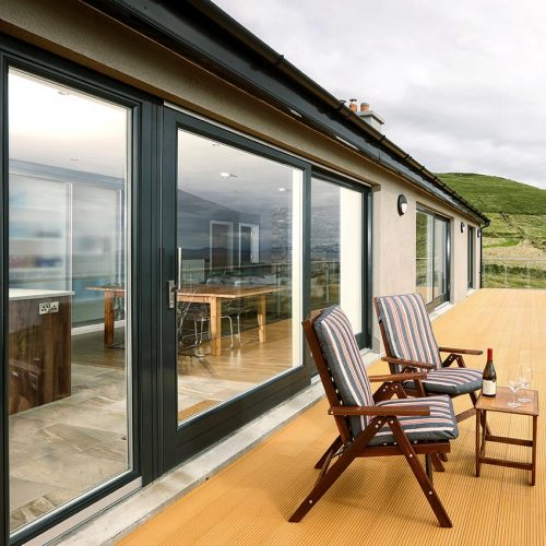 Rationel Patio Doors Black