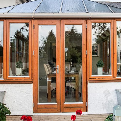 Rationel Timber French Doors