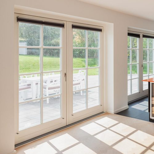 Rationel White French Door
