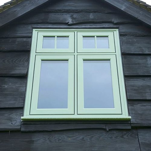Residence  Green Flush Sash
