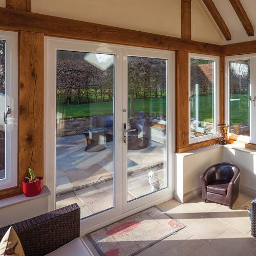 Sapa French Door Interior