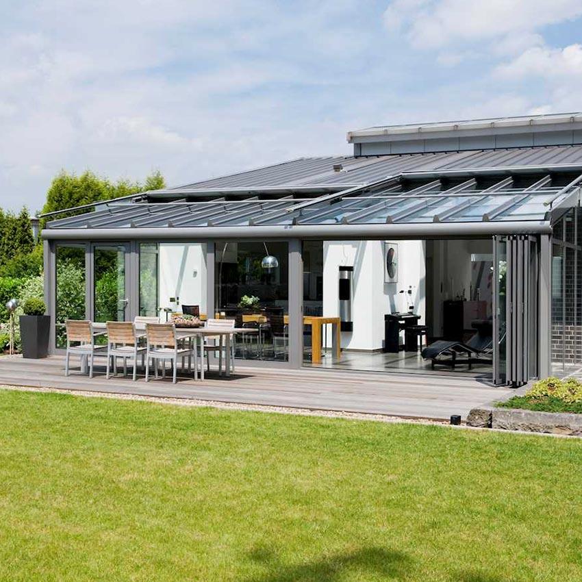 Solarlux WinterGarden Bifold Doors & Winter Garden - P S Counter Windows