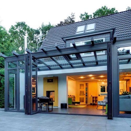 Solarlux bifold Doors