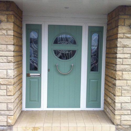 Solidor Chartwell Green Composite Door