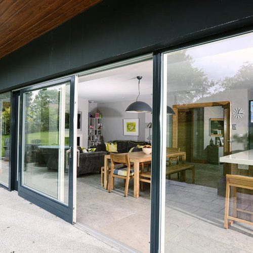 Two Tone Patio Doors