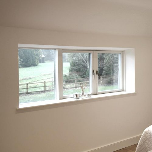 White Composite Windows