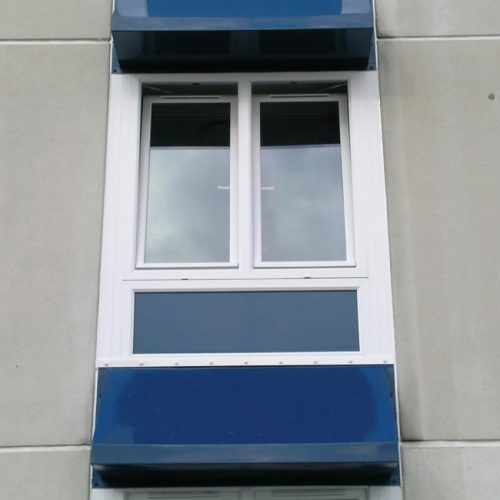 White PVC Tilt and Turn Windows