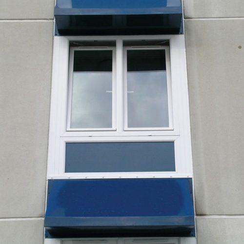 White PVC Tilt and Turn Windows