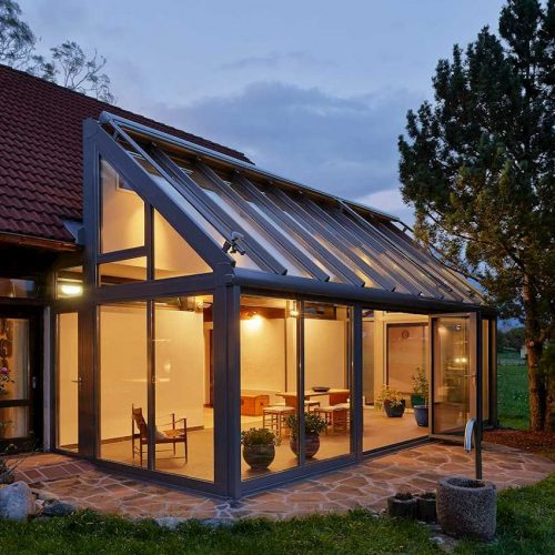 WinterGarden Bifold Door Night