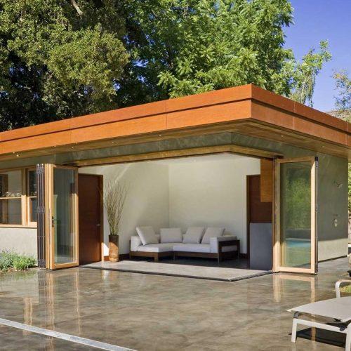 extension timber bifold