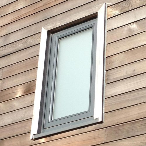 grey Composite Window