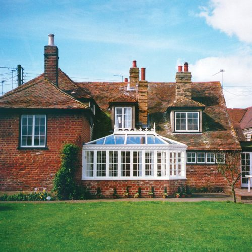 White Traditional Conservatory