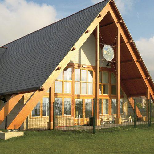 Rationel Timber Windows School
