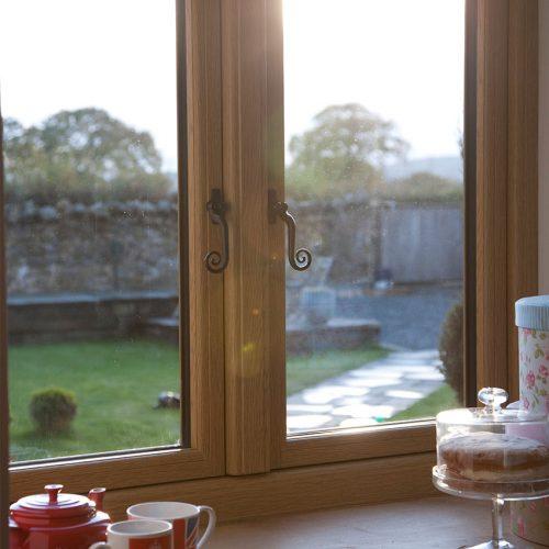 Timber Effect Flush Sash Windows