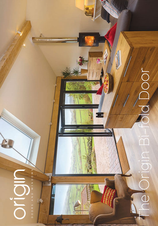 Origin bifold door