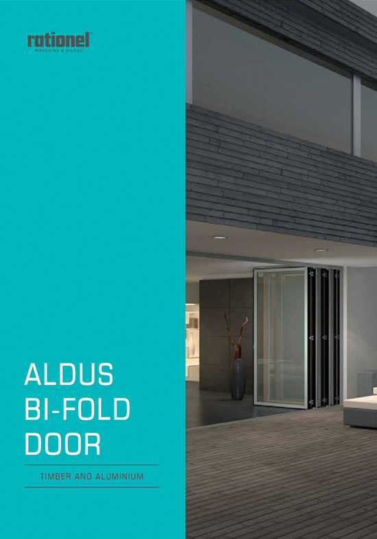 Rationel bifold doors