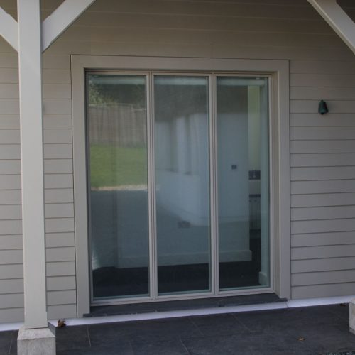 Cream uPVC Bifold Door
